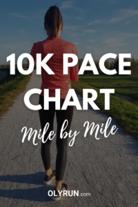10K pace chart free download