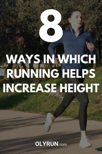 8 ways in which running helps increase height