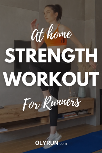 At-home strength workout for Runners