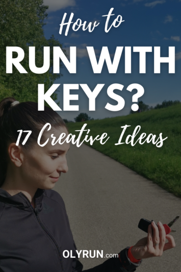 how to run with keys