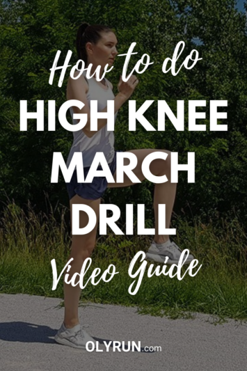 High knee march