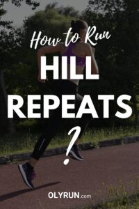 How to run hill repeats