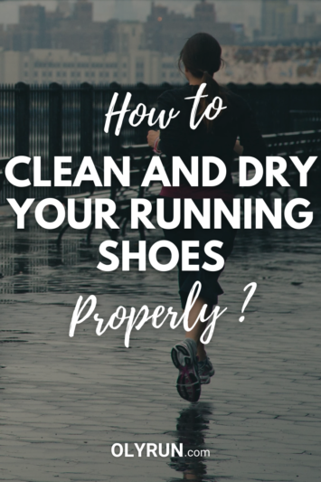 How to clean and dry running shoes