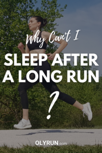 Why Can't I Sleep After a Long Run